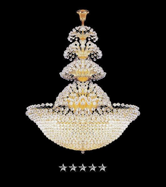 French Blossom Empire Crystal Chandelier - Grand Entrance Chandelier