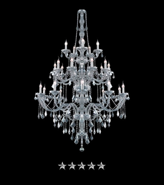 Bohemian Courting Crystal Chandelier - Grand Entrance Chandelier