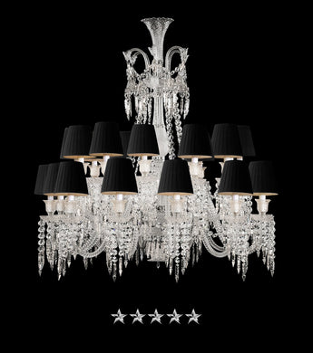 24 Light Grand Zenith Chandelier - Grand Entrance Chandelier
