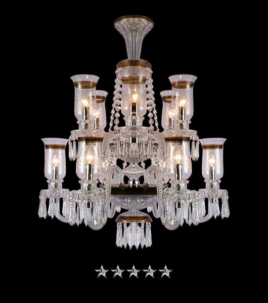 Saint louis hurricane royale 12 light crystal chandelier grand saint louis hurricane royale 12 light crystal chandelier grand entrance chandelier aloadofball Image collections