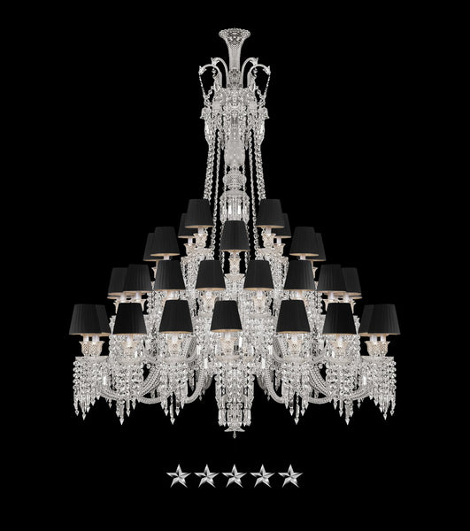 48 Light Grand Zenith Chandelier - Grand Entrance Chandelier