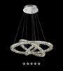 Eternity Tri-Ring Crystal Chandelier - Grand Entrance Chandelier