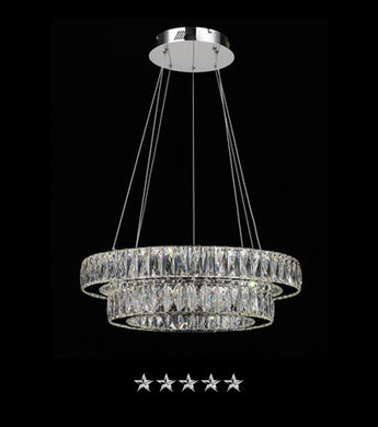 The Colosseum Inverted Crystal Chandelier - Grand Entrance Chandelier