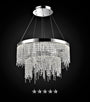 Classic Gold Drop Crystal Chandelier - Grand Entrance Chandelier