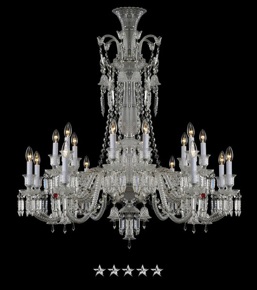 Classic Noble Crystal Chandelier - Grand Entrance Chandelier