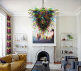 Color-Mate Hand Blown Chandelier - Grand Entrance Chandelier