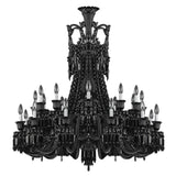 Empire Black Crystal Chandelier - Grand Entrance Chandelier
