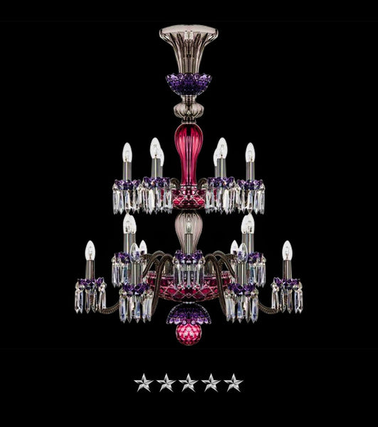 Royal Saint Louis Crystal 18 Light Chandelier - Grand Entrance Chandelier