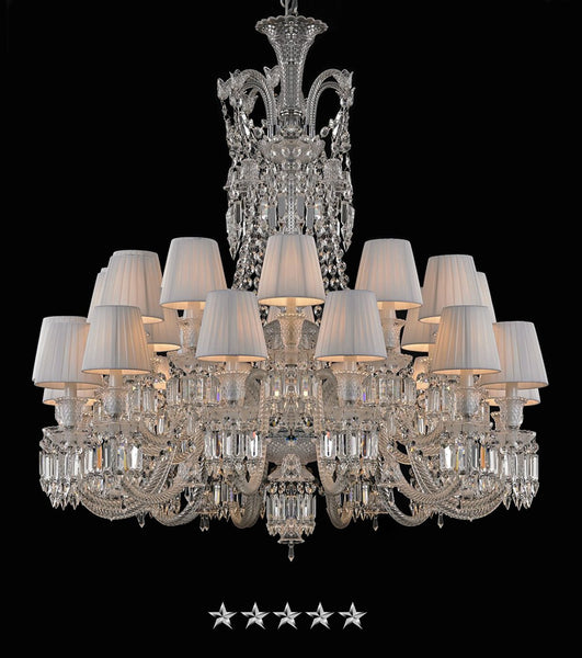 Luxury Zenith Crystal Chandelier - Grand Entrance Chandelier