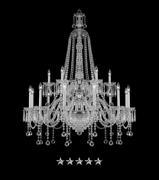Bohemian Beaded Crystal Chandelier - Grand Entrance Chandelier
