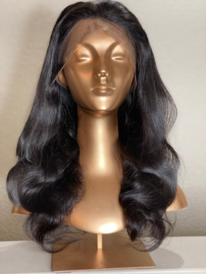 Raw 150% Full Lace Wig 1B/Body Wave