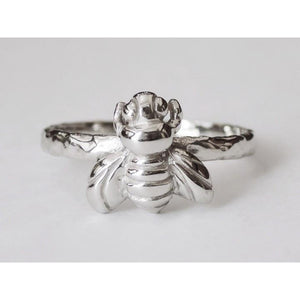 925 sterling silver Bee Ring