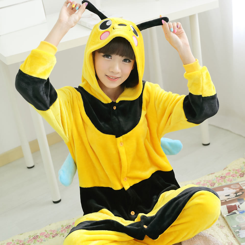 Women's Bee Onesie Pajamas