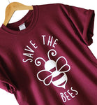 High Quality Save The Bees Tshirt
