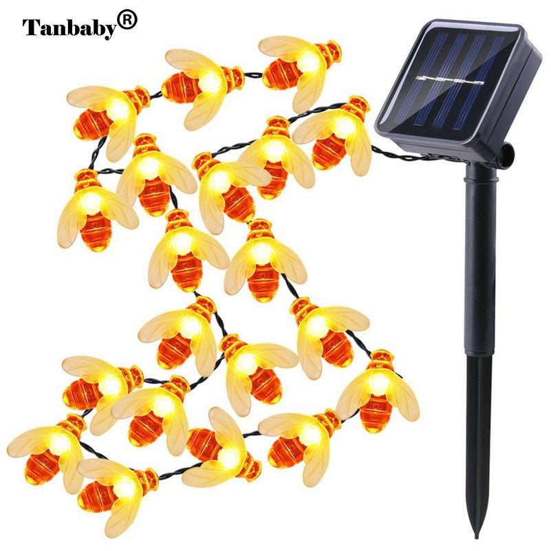 5M/20 HONEY BEE SOLAR STRING LED LIGHTS