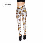 Bee Pattern Leggings