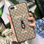 High Fashion Bee Embroidery Phone Case