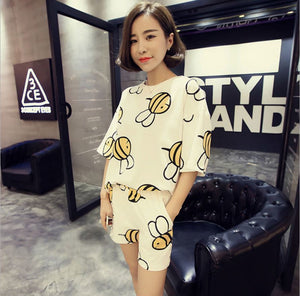 Cute Bee Sleepwear