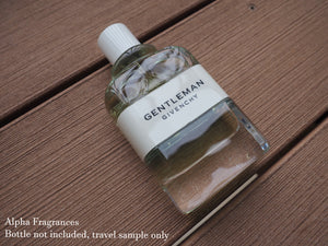 Givenchy Gentleman Cologne (Eau de Toilette) - Travel Sample FREE SHIPPING