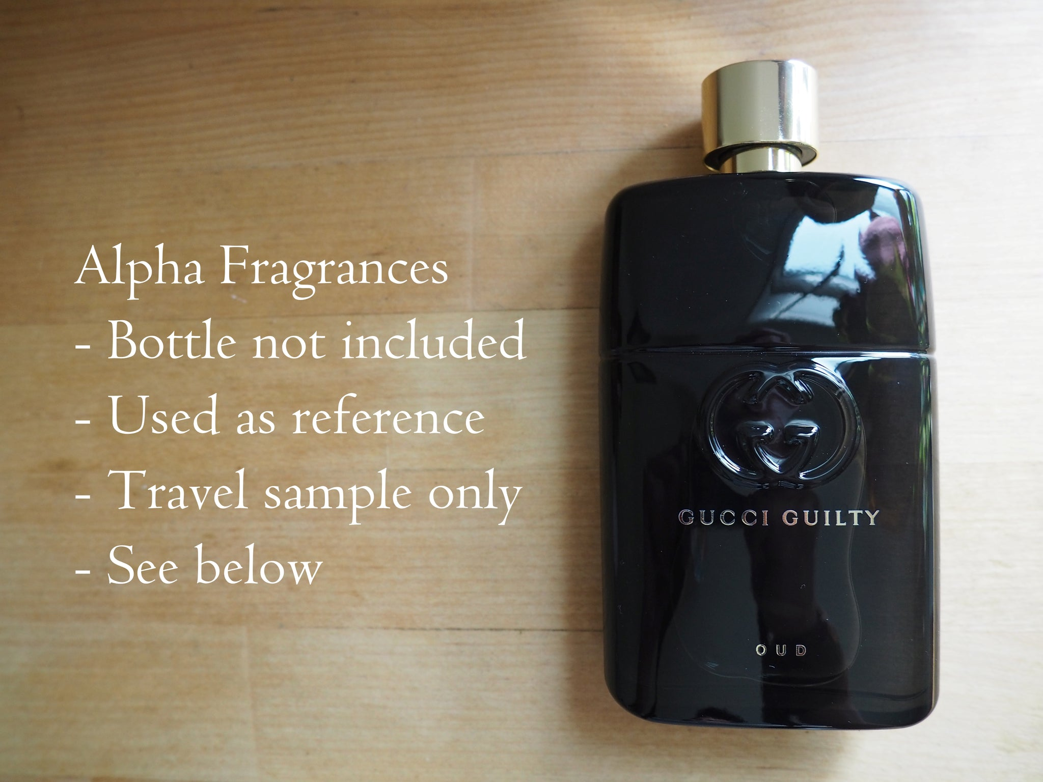 Gucci Guilty Oud Eau De Parfum Travel Sample Free Shipping Gxxci