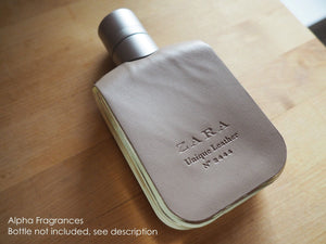 Zara Unique Leather (Eau de Toilette) - Travel Sample FREE SHIPPING