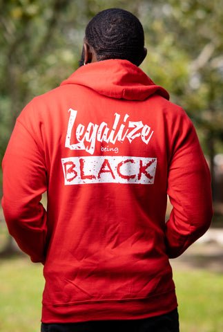 Legalize Being Black Hoodie Jacket