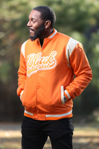 Fitted Wool Big Logo Bomber