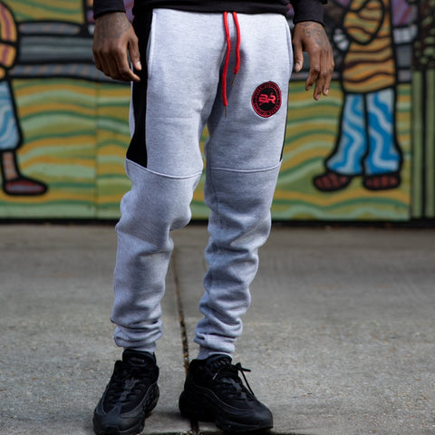 Bred Color-Block Jogger Pants