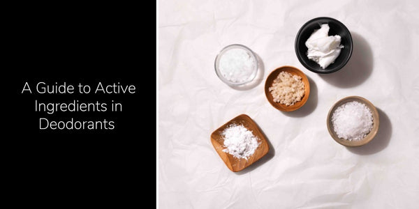 Learn about the active ingredients most commonly used in deodorants