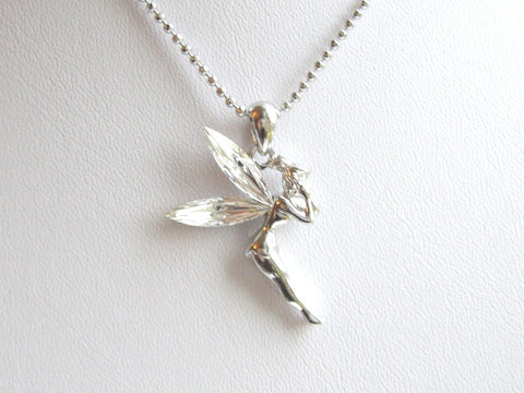 Fairy Clear Wings Necklace