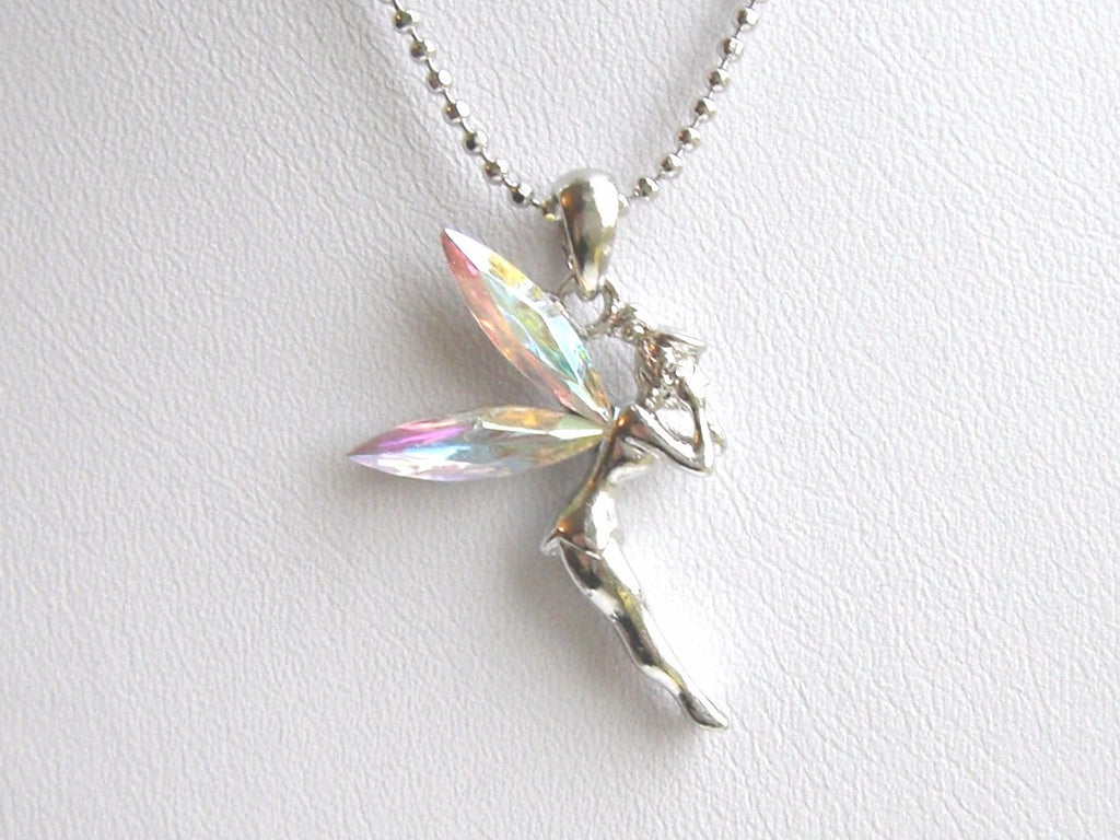 Fairy Colour Wings Necklace
