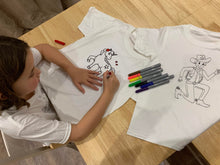 Colour-in Tshirts