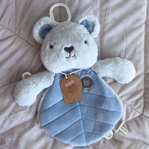OB Designs Beau Bear Comforter Blue