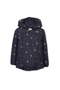 Milky Puffer Jacket - French Navy