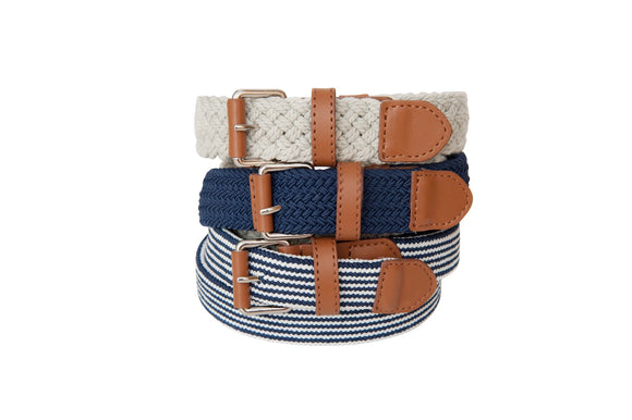 Foxy Fellow Nautica Cream Belt