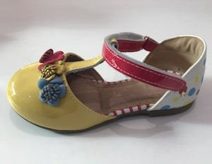 Bibi Love Baby Shoe Yellow/Spots *** NOW 50% OFF