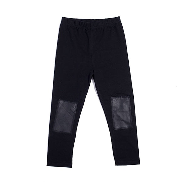 Hootkid Patch Legging - Black