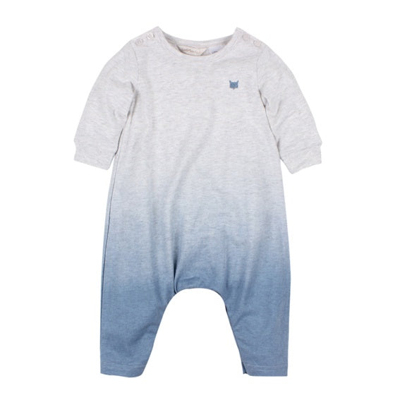 Fox and Finch Alaska Dip Dye L/S Romper