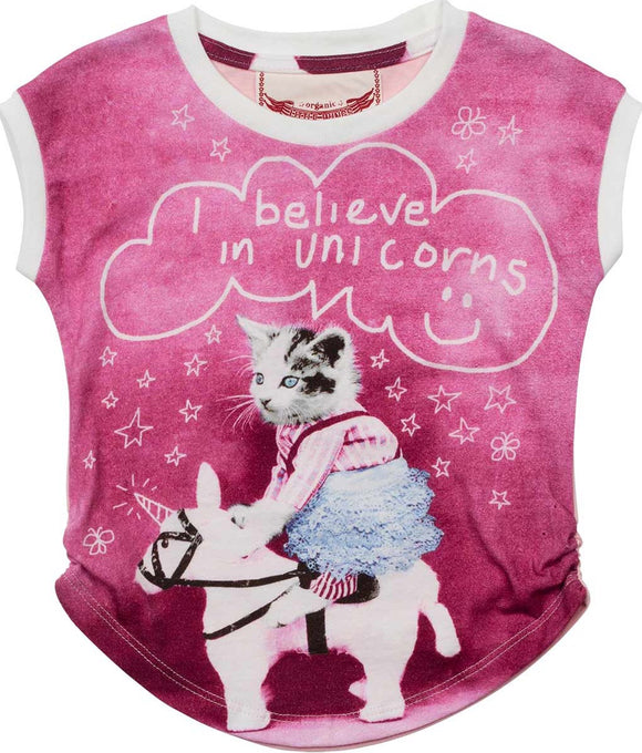 Little Wings Classic Tank I believe in unicorns