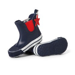 Penny Scallan Gum Boots / Navy Star