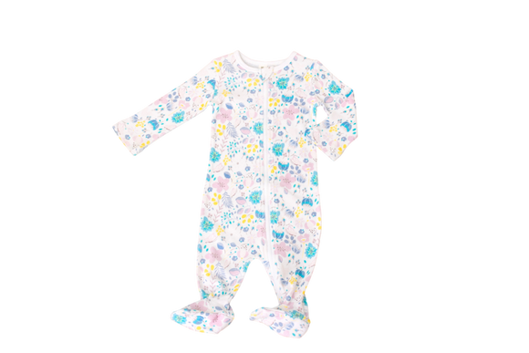 Little Bubba Bella floral Zip Up Romper