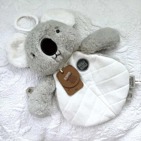 OB Designs Kelly Koala Comforter Grey