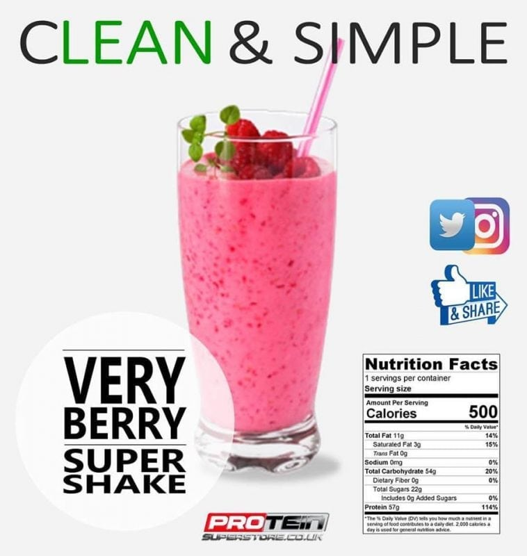 Very Berry Super Shake