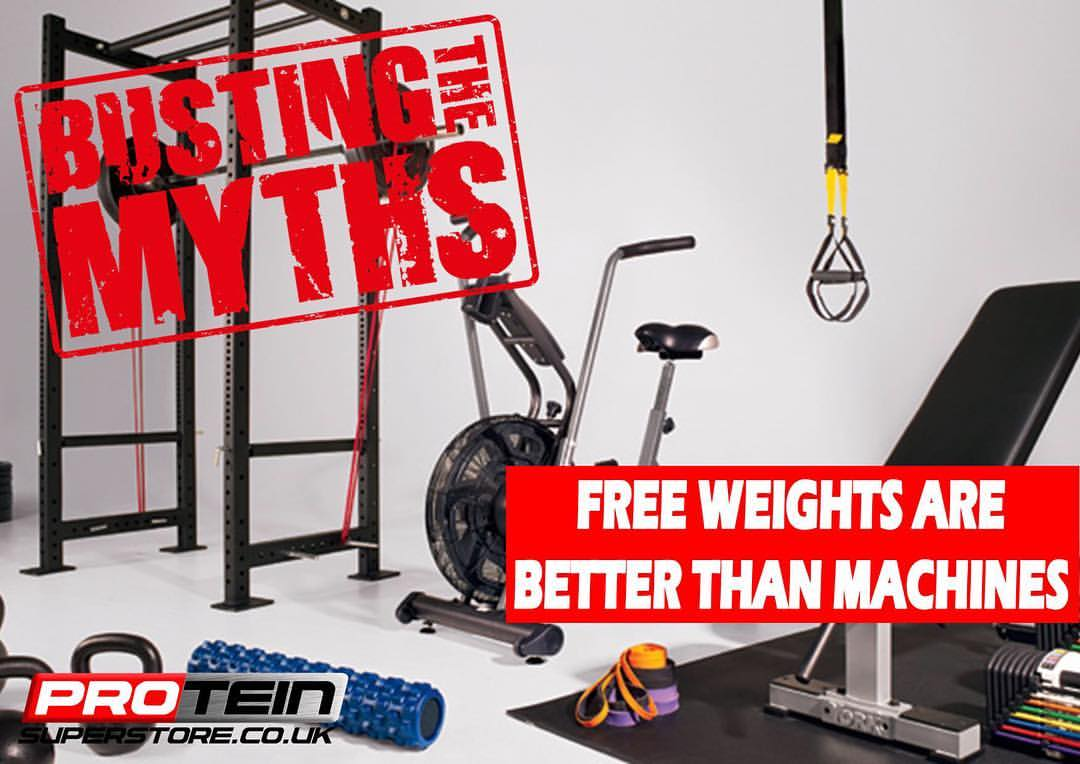 Free Weights Are Better Than Machines