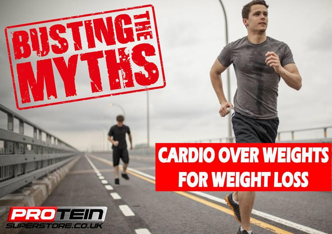Cardio Over Weights For Weight Loss