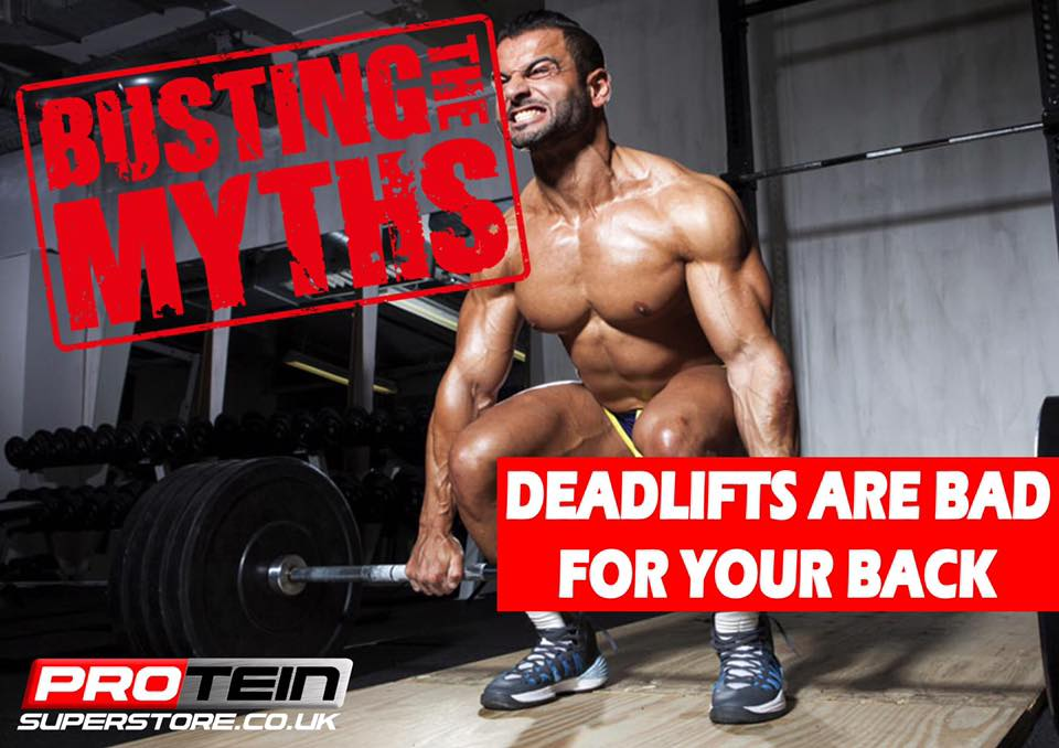 Deadlifts Are Bad For Your Back