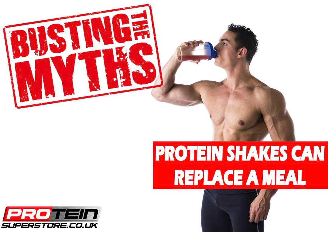 Protein Shakes Can Replace A Meal