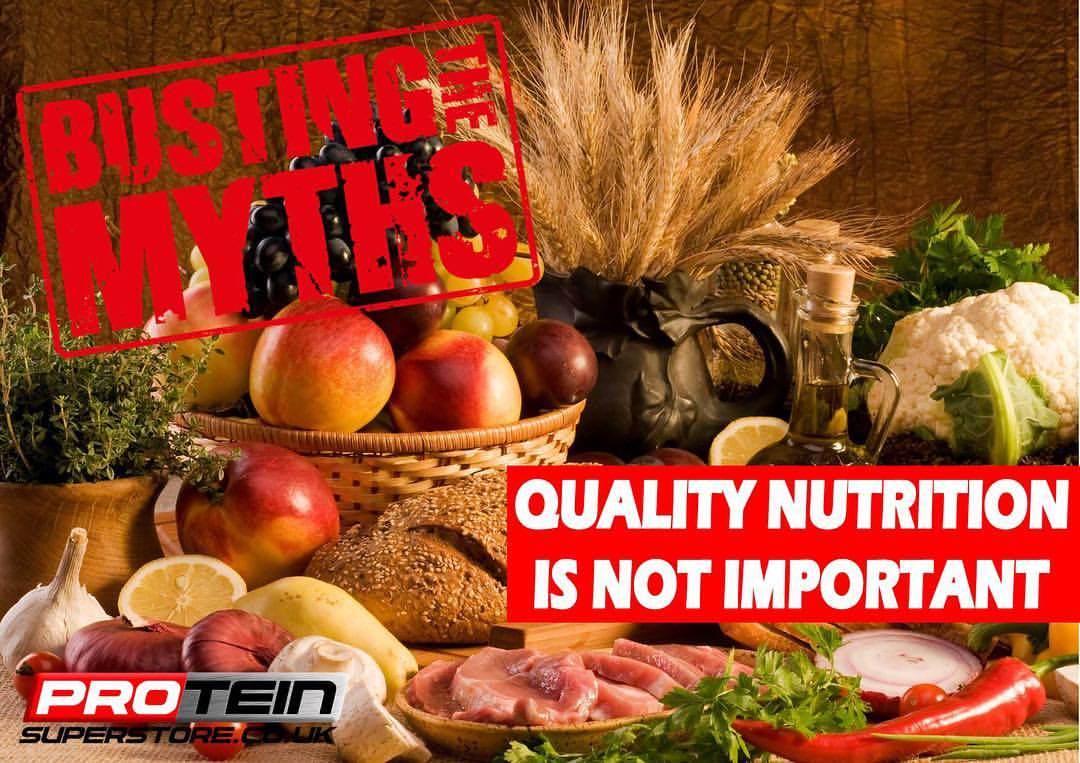Quality Nutrition Is Not Important