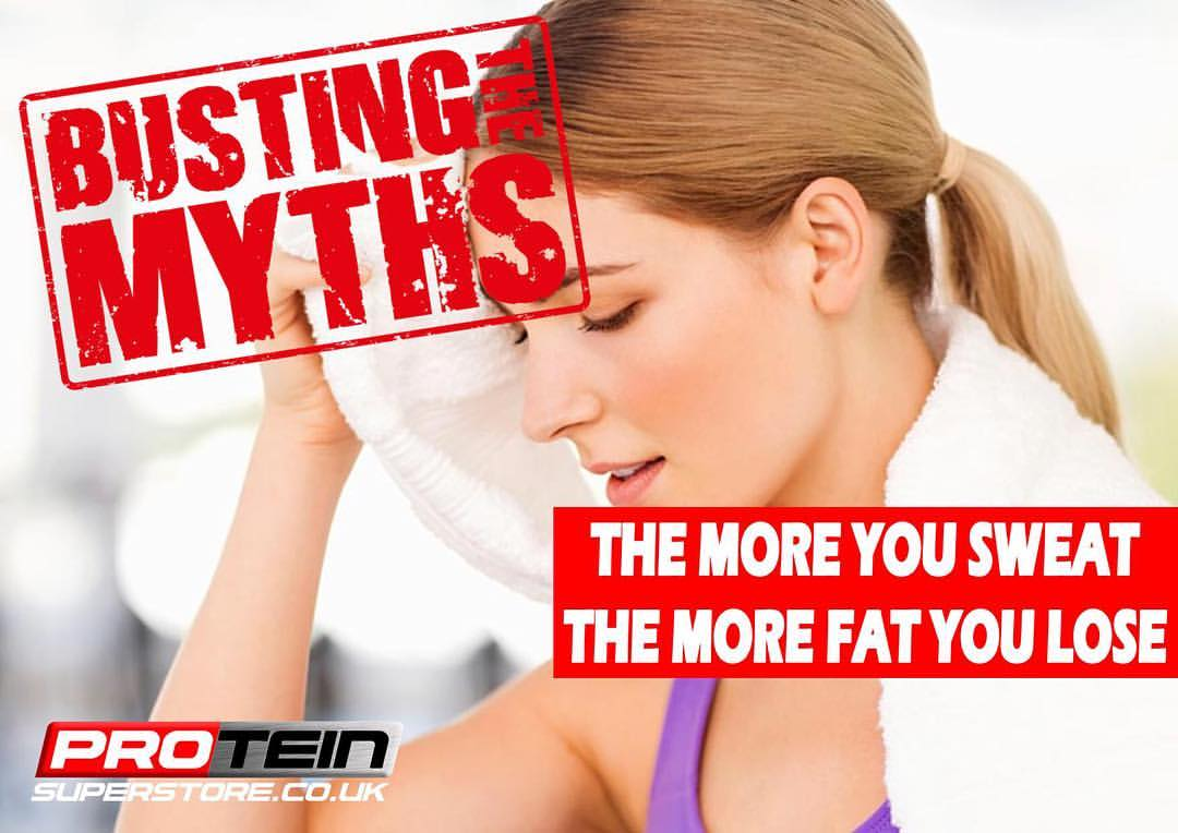 The More You Sweat The More Fat You Lose