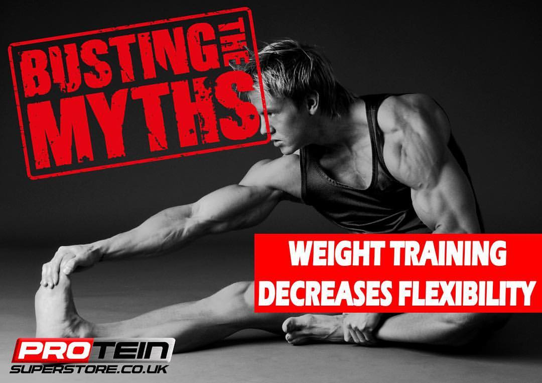 Weight Training Decreases Flexibility